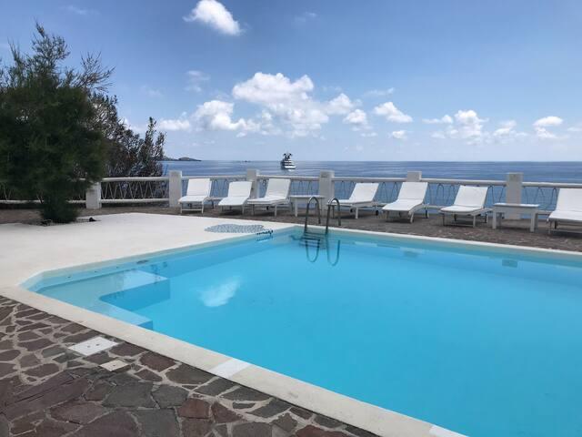 Villa Ulivo in Panarea Island