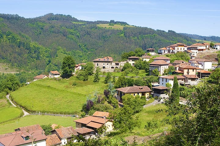 VIÑALBERO, Casa asturiana catalogada con encanto - San Justo de la Dóriga