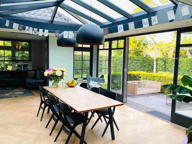 Luxe familie villa, bij Bergen aan Zee en Alkmaar