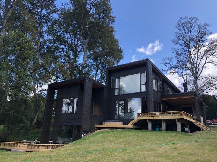 Gran Casa con vista al lago Panguipulli