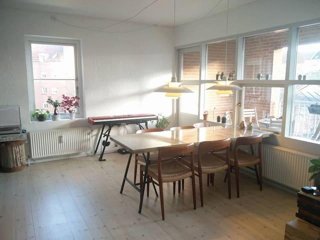 Bright riverview apartment in the heart of Aarhus - Aarhus - Appartement