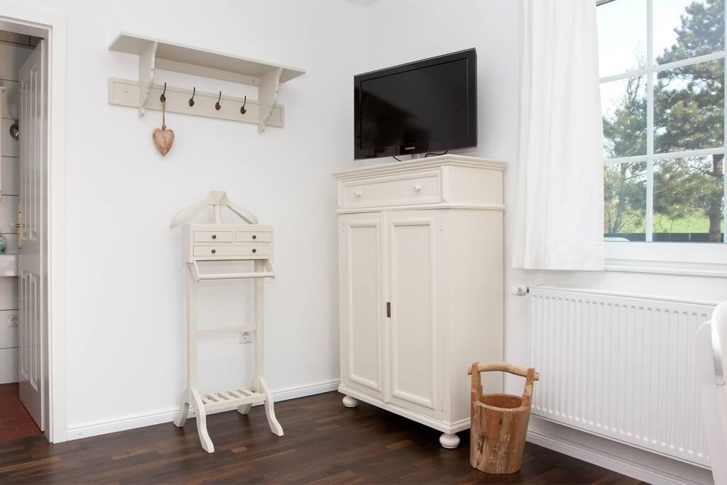 Wohnbereich mit Flatscreen