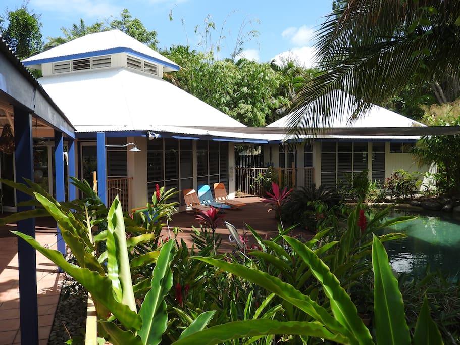 Pavilion style living