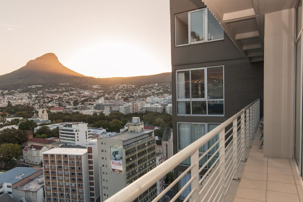 View from Second Bedroom. Lion's Head pictured left.