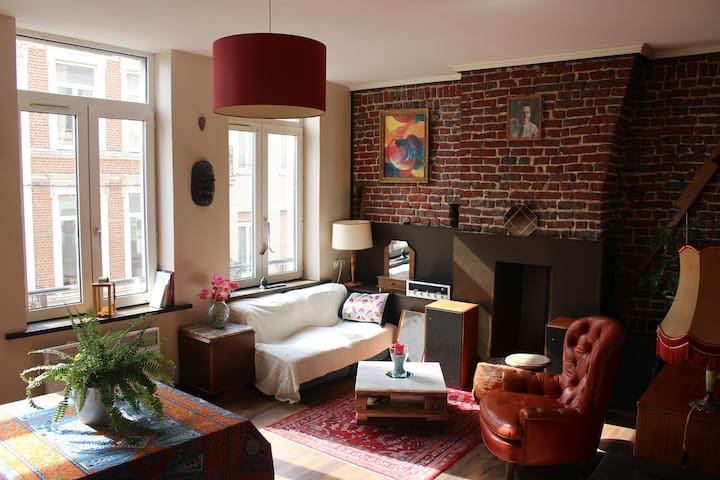 Bel appart avec cachet et confort - Lille - Apartment