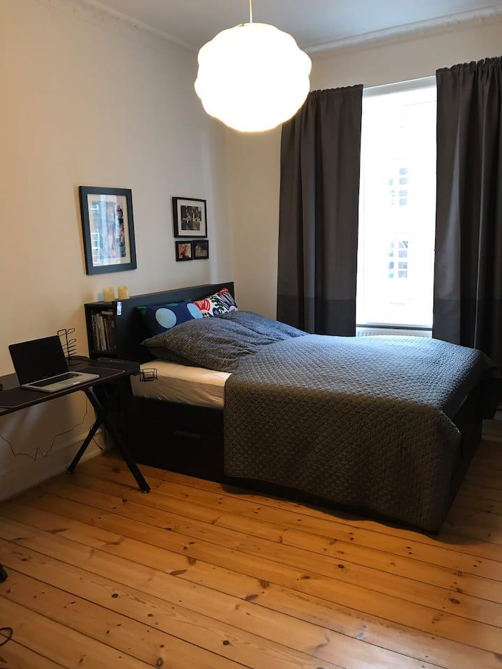 Private Room - Apartment in Copenhagen, Valby.