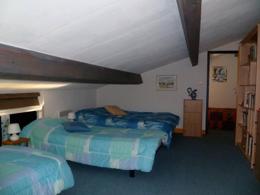 dortoir et chambre séparée