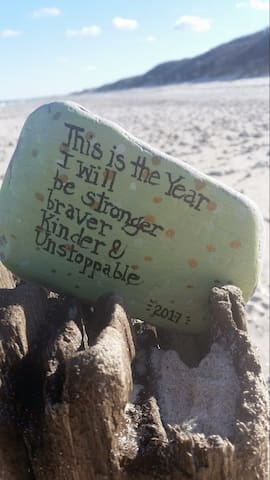 Kindness rocks can be found all over Cape Cod!