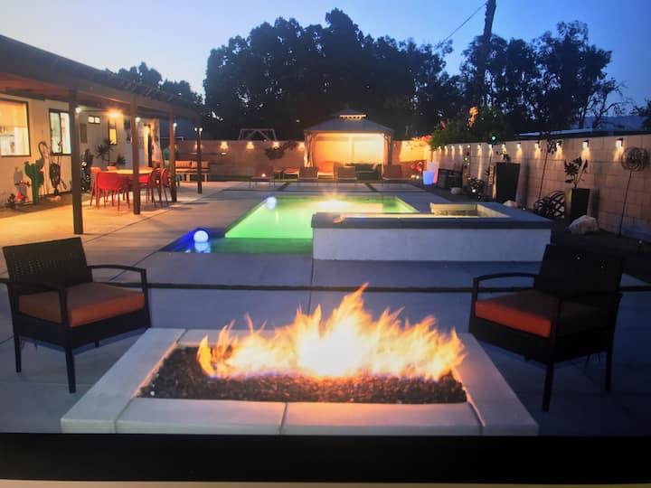 Terra Soul - Pool, Hot Tub, Fire Pit & Style!