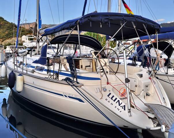 Luna yacht - Bavaria 44, 4 cabins - Alanya