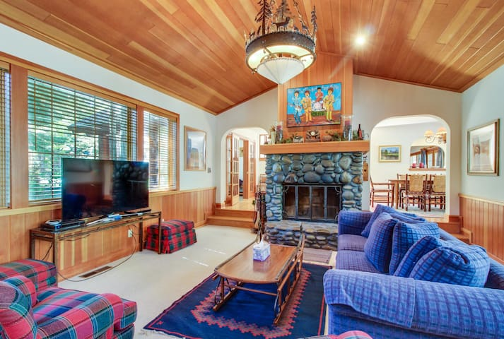 Spacious mountain home w/ shared pool & private hot tub - close to slopes!