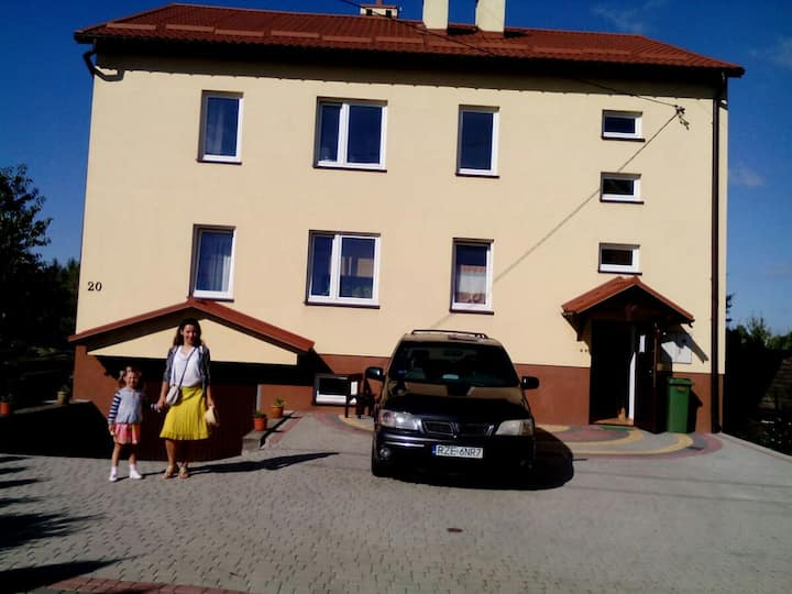 INTER-HOUSE  ( room with balcony 3 bed)