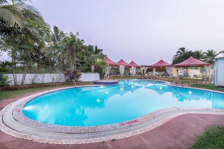 Premium Stays at Mapusa North Goa - North Goa - Bed & Breakfast