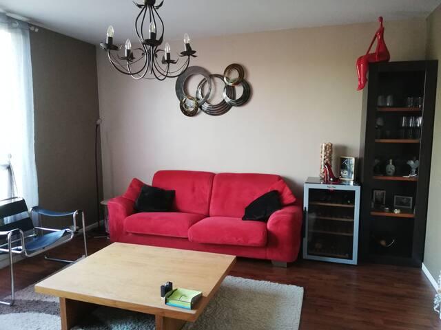 Appartement entier F3 pour ARMADA de Rouen