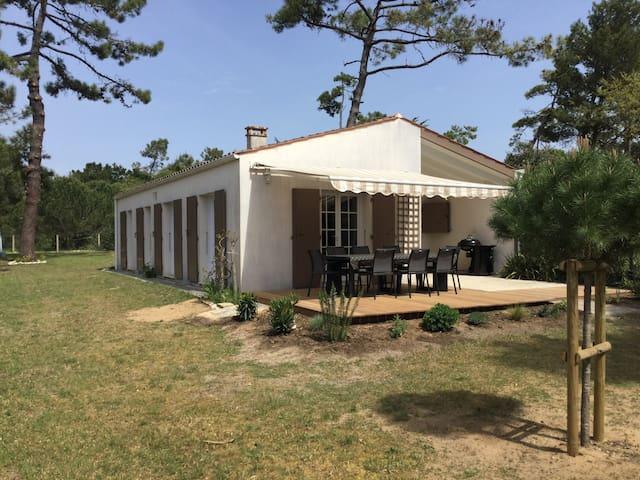 Maison de vacances, proche plage, Sables Vignier