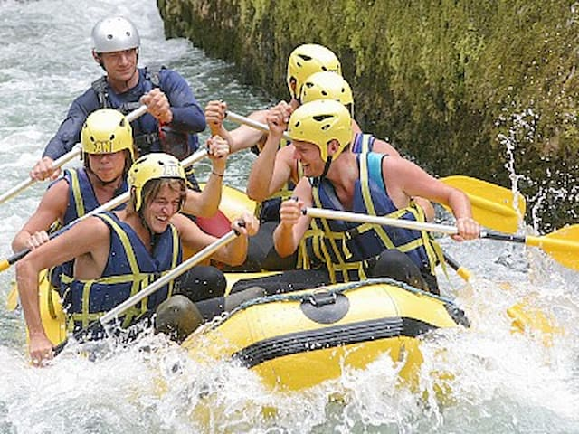 A day out white water rafting
