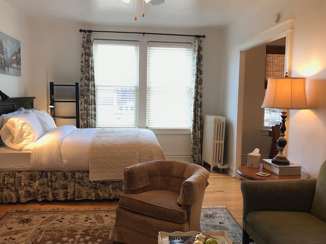 Central West End: Sweet Studio Overlooking CWE