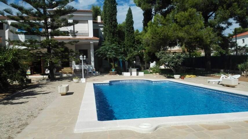 Acogedora Villa con piscina privada - L'Ametlla de Mar - House
