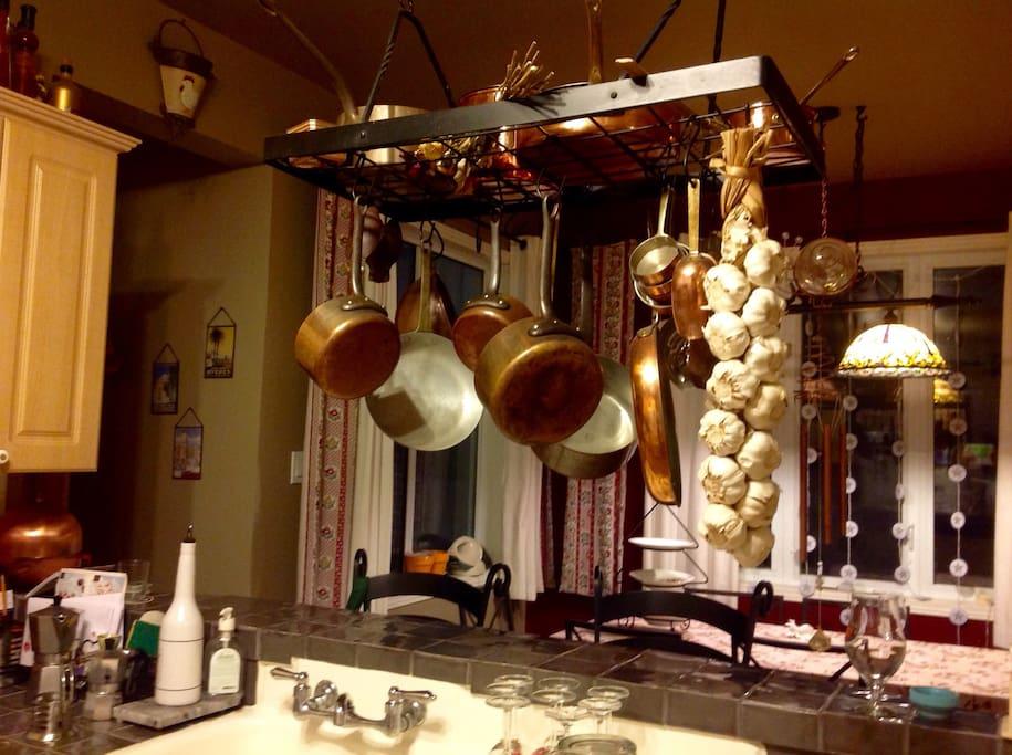 French kitchen.