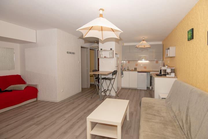 Appartement T2 plage de l'Argentière