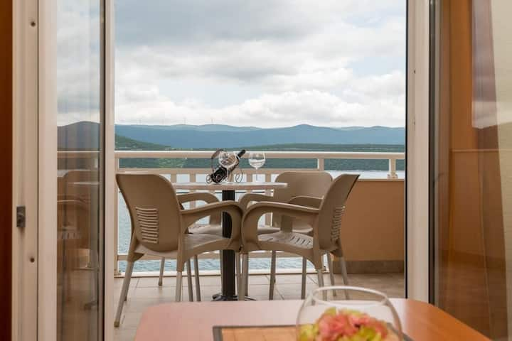 Apartments Martina - One Bedroom Apartment with Sea View