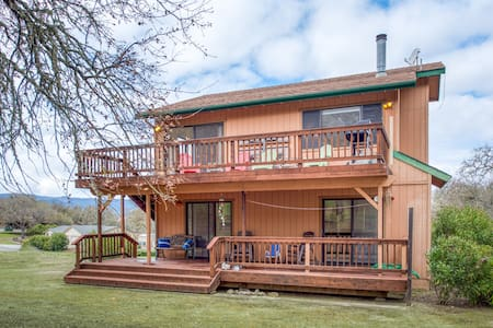 NEW LISTING! Dog-friendly home w/ spacious decks & gas grill - close to the lake