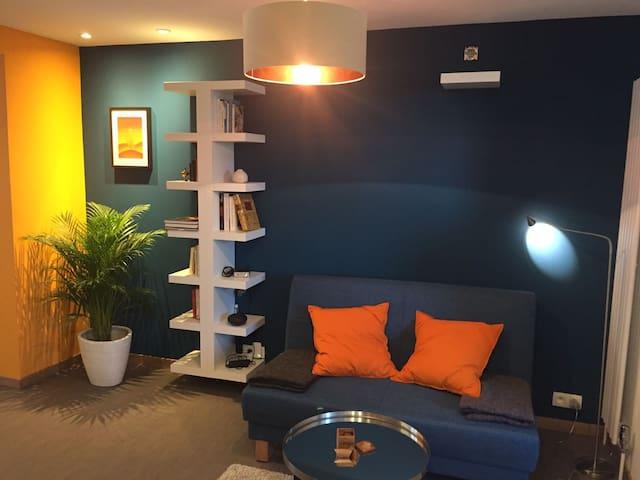 Charmant studio au calme entre ville, parc & forêt - Rhode-Saint-Genèse - Apartamento