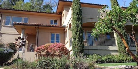 Tuscan Getaway in San Anselmo with View One Bed