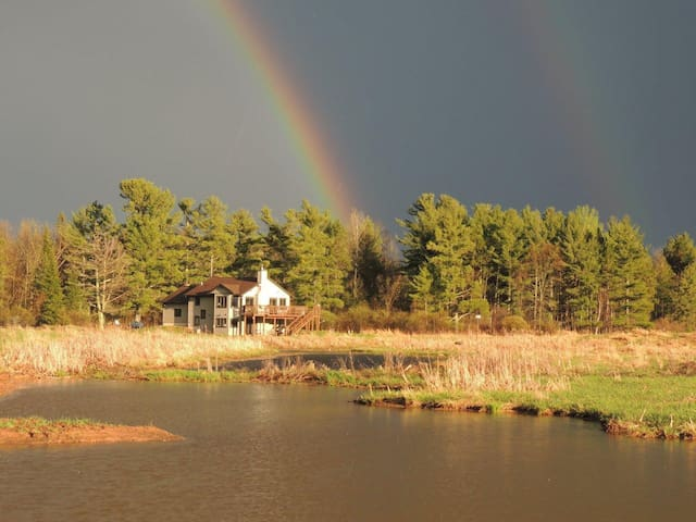 Gateway to Lake Superior,  on 237 acres w/10 ponds - Ashland - Ház