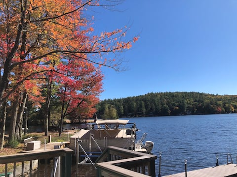 Сезонный коттедж на берегу озера