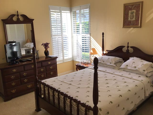 Private, Peaceful, Comfortable - just nice!
