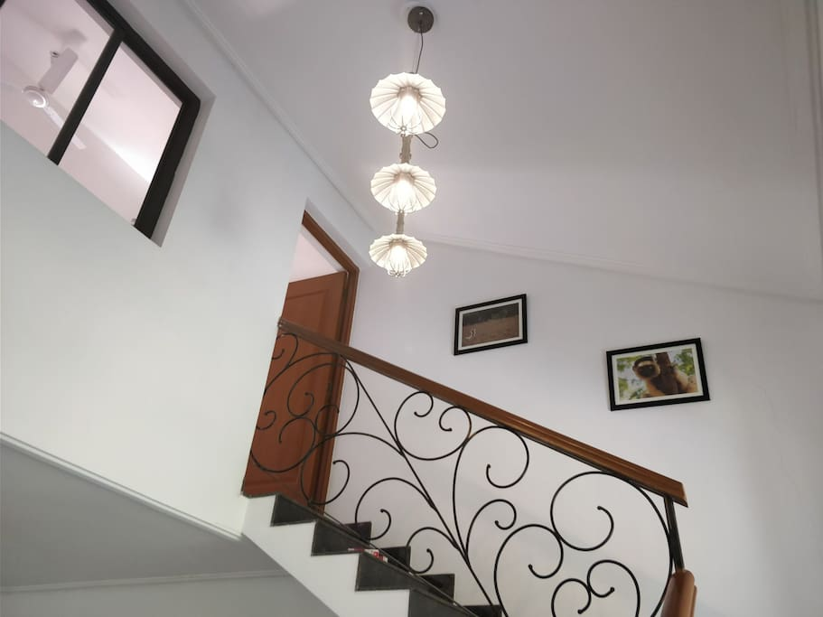 stairs to the bed room and terrace