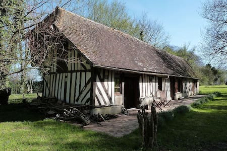 Idyllic cottage in rural Normandy