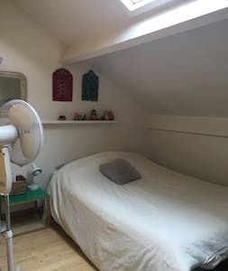 Chambre verte Arcueil- Paris