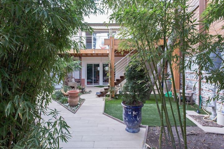 Jolie maison centre ville près jardin des plantes - Toulouse