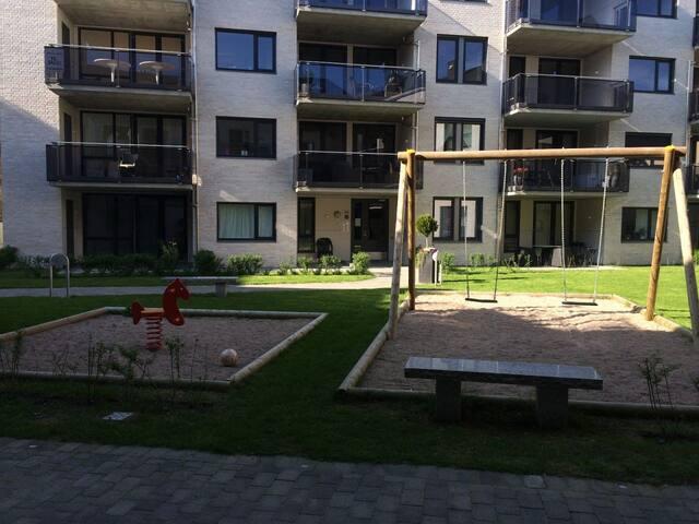 Leilighet 200 meter fra Grimstad sentrum - Grimstad - Lägenhet