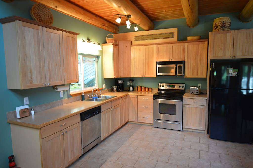 Full kitchen includes dishwasher & coffee maker