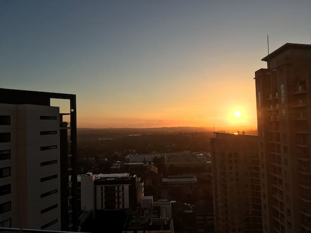 Awesome apartment 21 floors up - Chatswood - Huoneisto