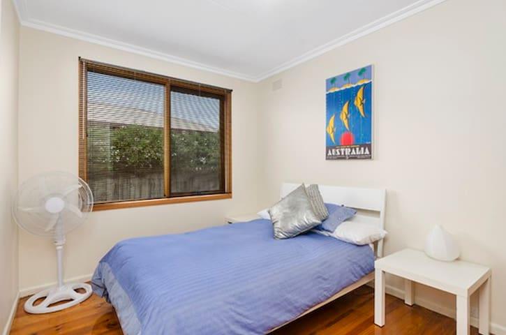 Bedroom 2 - Double bed.