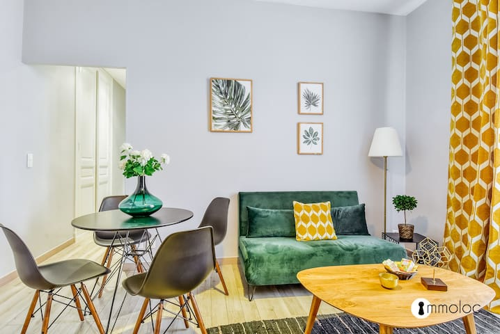 Cozy and chic apartment 2 minutes walk from Monaco