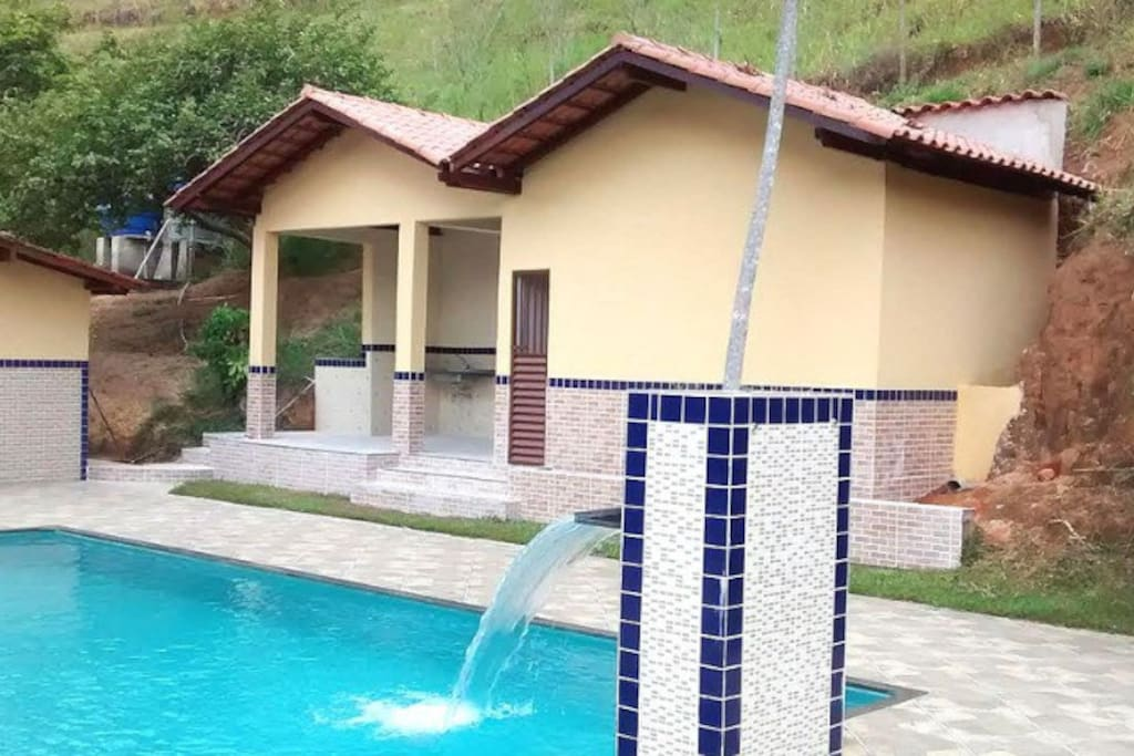 Área de piscinas/sauna