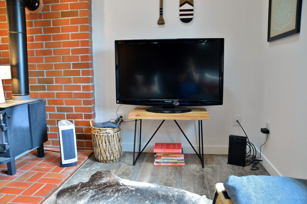 TV with Chromecast for streaming Tv and movies