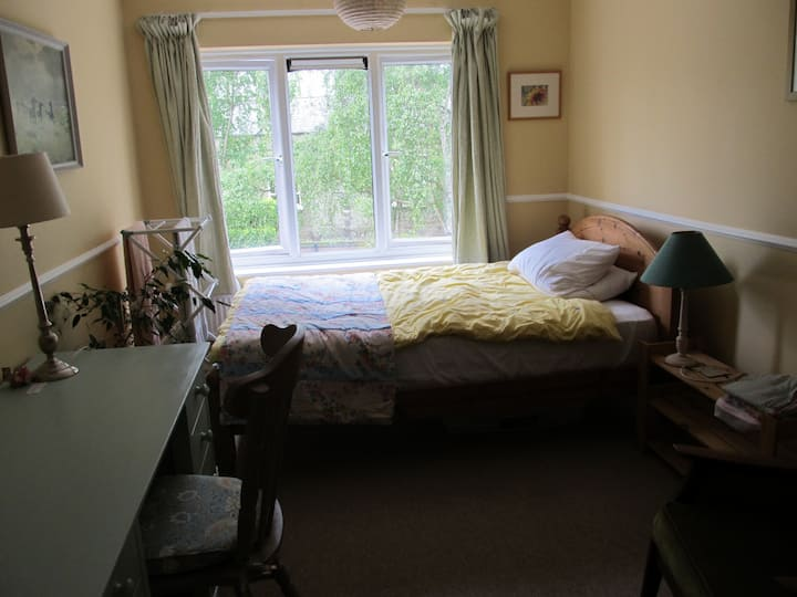 Large city centre double room with a view