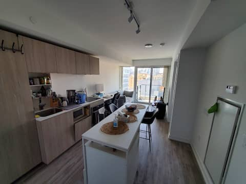 Bright, Modern Condo in the Heart of Downtown
