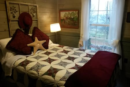 Champlain Valley Alpacas upstairs guest room - Bridport