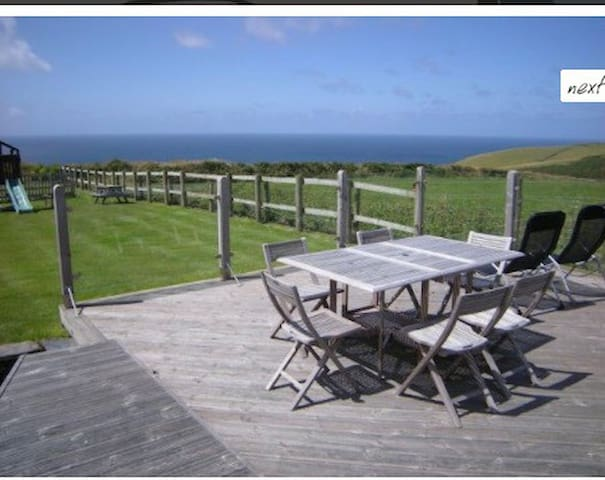 Detached converted barn with amazing sea views. - Boscastle - Casa de férias