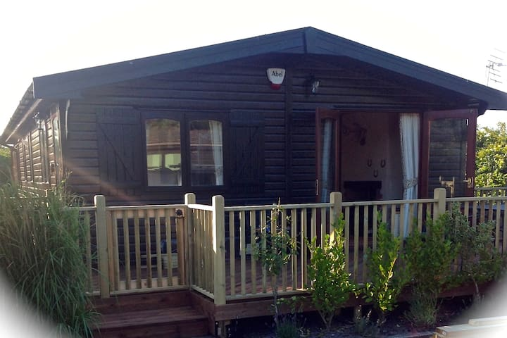 Log Cabin at Shorefields Holiday Park