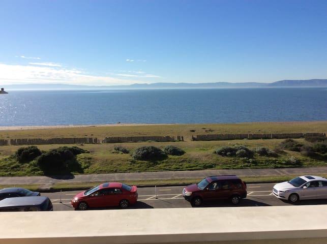 享受四季宜人的气候,欣赏旧金山迷人的海湾景色...... - Alameda - Apartamento