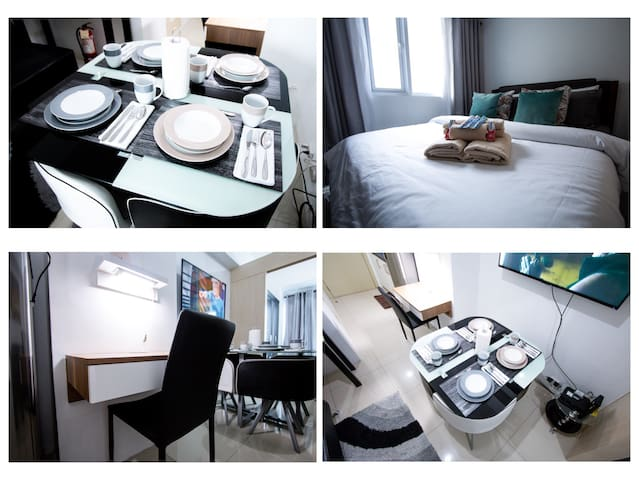 Fully furnished for Work and Family @ Jazz Makati