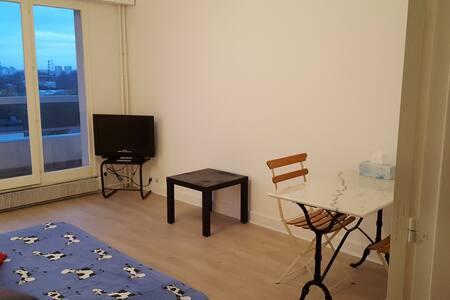 Beautiful studio 31 m² with balcony - Saint-Denis - Appartamento
